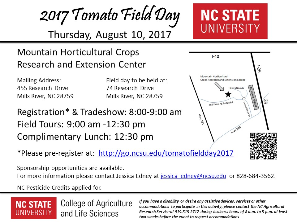 forestry field day 2017 tomato field day august 10 nc state extension