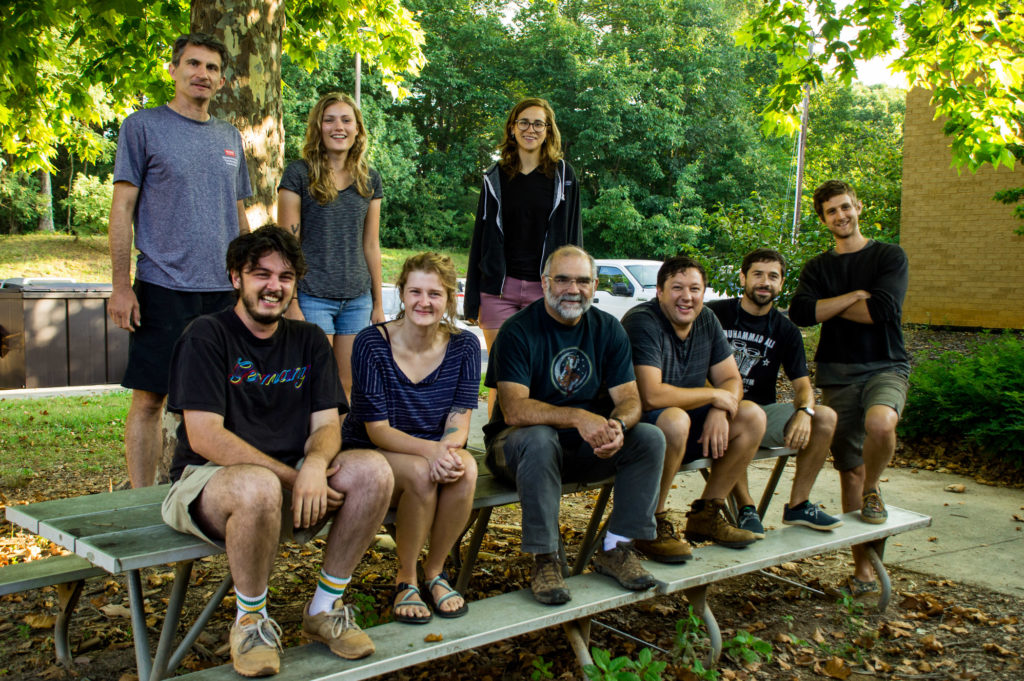 Picture of 2019 members of entomology lab